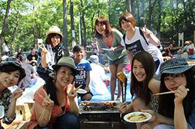 韓国人や他の国の人々と交流イベント多数開催